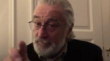 Robert De Niro warns 'I'm watching you!' in new PSA about staying home during coronavirus pandemic