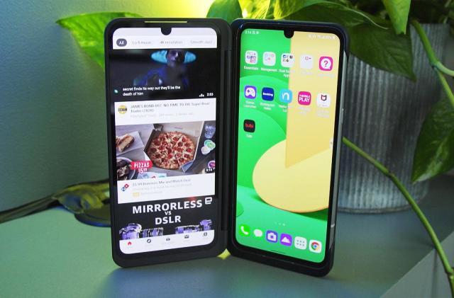 LG V60 ThinQ 5G hands-on: Two screens, not enough polish