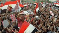 Raw Video: Mass protest in Tahrir Square