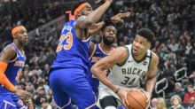 Potential Knicks target Giannis Antetokounmpo to get 'all in' pursuit from Heat: report