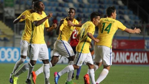 Brasil cede o empate para o Paraguai no hexagonal do Sul-Americano Sub-17