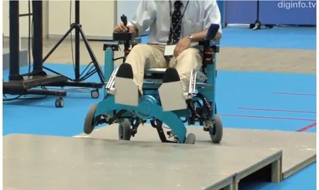 Robotic wheelchair concept adds leg-like movement, tackles stairs with ease (video)