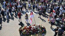 Tausende Demonstranten versammeln sich in belarussischer Hauptstadt Minsk