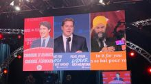 'No class': Trudeau faces heat for interrupting Scheer's concession speech