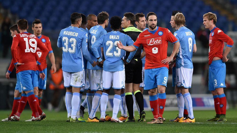 Serie A, gli arbitri della 31ª - Irrati per la sfida Champions Lazio-Napoli