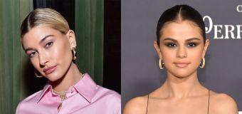 Hailey Bieber denies shading Gomez's song