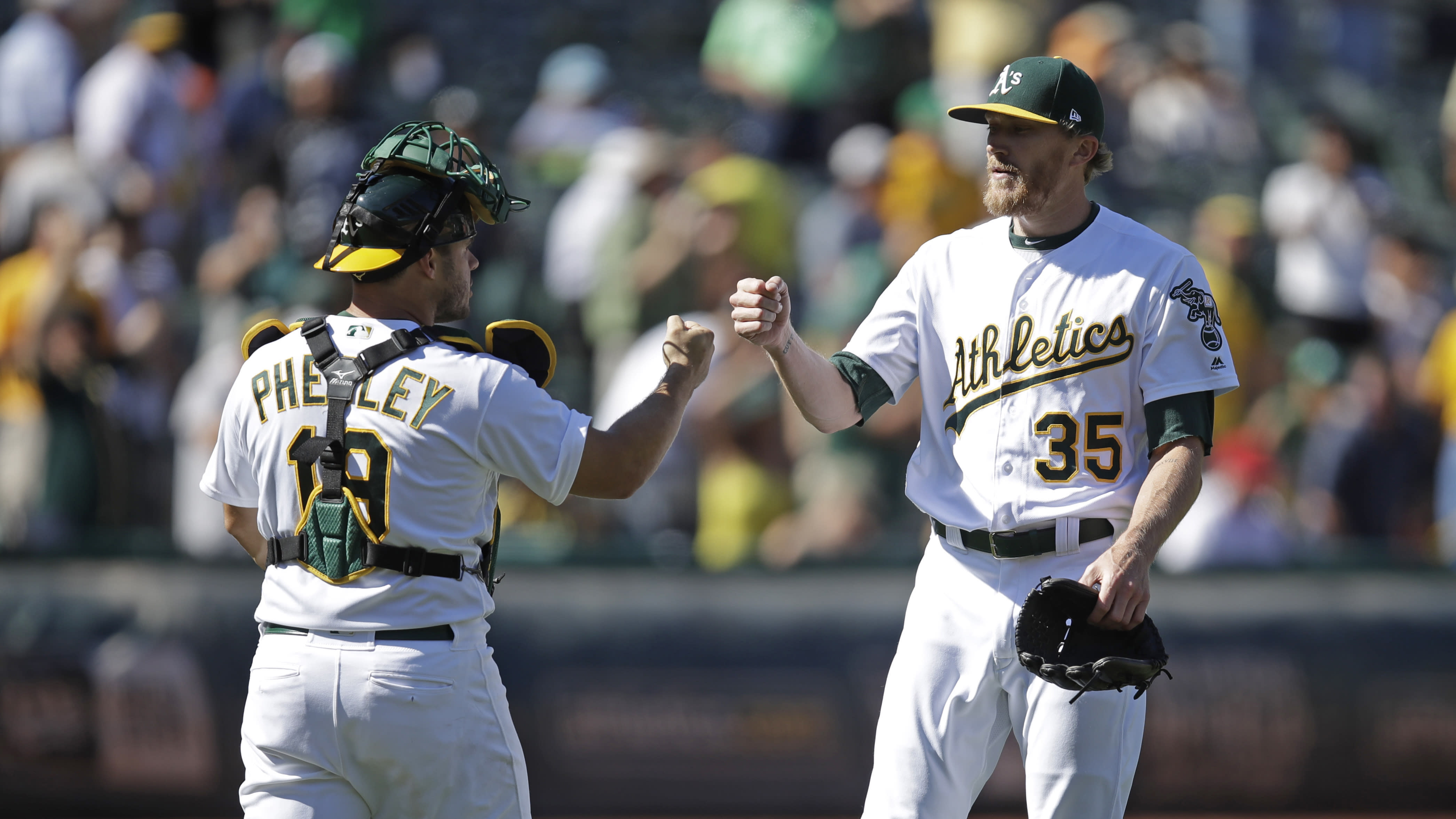LEADING OFF: A's winning streak on line in suspended game