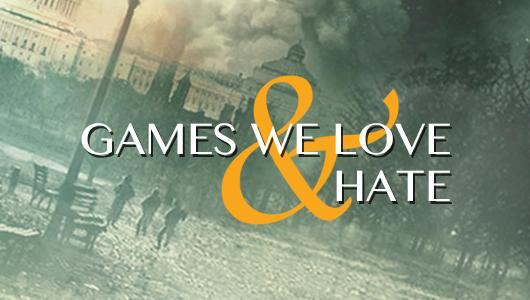 Games we love and hate