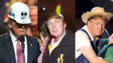 Donald Trump Wears a Lot of Hats, Literally