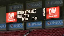 Championship: Wigan score eight against feeble Hull, West Brom falter
