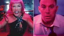 Pink is Channing Tatum's dominatrix in new music video