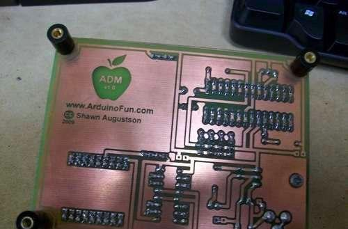 Print your own circuit boards with an Inkjet (and a modicum of skill)