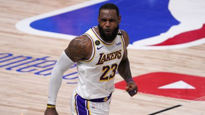 LeBron's latest sponsor is a funny nod to past