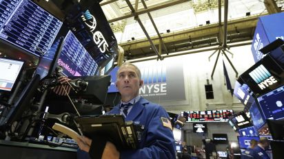 Wall St. ends higher with help from tech, energy