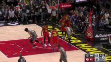 Spencer Dinwiddie breaks down defender and dunks it