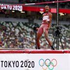 Olympics-Athletics-Qatar's Barshim, Italian Tamberi share men's high jump gold