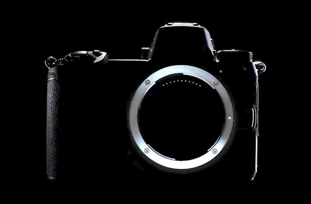 Nikon teases a substantial lens mount and grip for its new camera