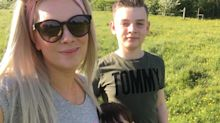 Woman puts tiredness down to being a busy mum but it was actually a brain tumour she'd had for a decade