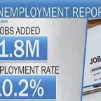 Nation's unemployment rate falls to 10.2% as economy adds 1.8 million jobs in July