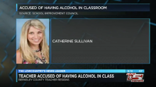 'Teacher of the Year' resigns after allegedly slurring her words, 'wobbling' and hiding wine in her classroom