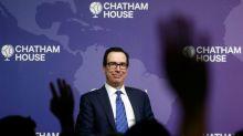 U.S. Treasury chief Mnuchin says optimistic about U.S.-UK trade deal