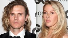 Dougie Poynter and Ellie Goulding Leave The GQ Awards TOGETHER