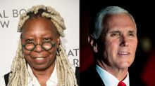 Whoopi Goldberg questions why President Trump appointed Mike Pence to lead coronavirus response: 'He's setting him up'