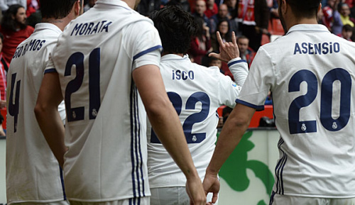 Primera Division: Darum jubelte Isco gegen Gijon auf spezielle Weise