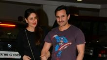 Saif Ali Khan and Kareena Kapoor Khan clicked at Karan Johar's star-studded bash