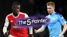 The Five Pointer: Gunners face daunting City prospect, Gerrard's new deal, farewell Barney