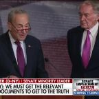 Chuck Schumer says President Trump's counsel have their work cut out for them