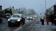 Heavy snowfall in south Manchester