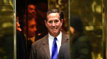 Rick Santorum Tells Trump The Numbers Don't Lie: You've Got A Problem