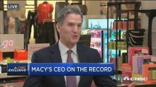 Macy's CEO says management changes, job cuts target faster sales, better margins