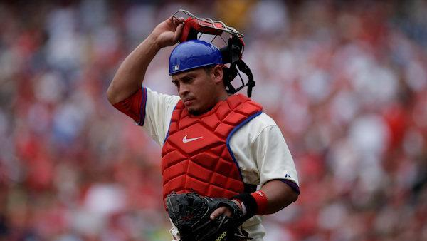 Phils' Carlos Ruiz suspended 25 games after positive test