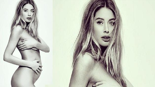 Doutzen Kroes Bare And Pregnant