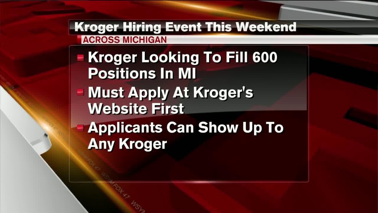 Kroger looking to fill 600 jobs in Michigan [Video]
