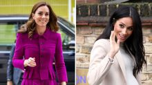 Kate Middleton is 'worried about being upstaged' by Meghan