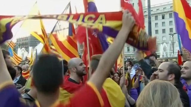A call to end the monarchy in Barcelona