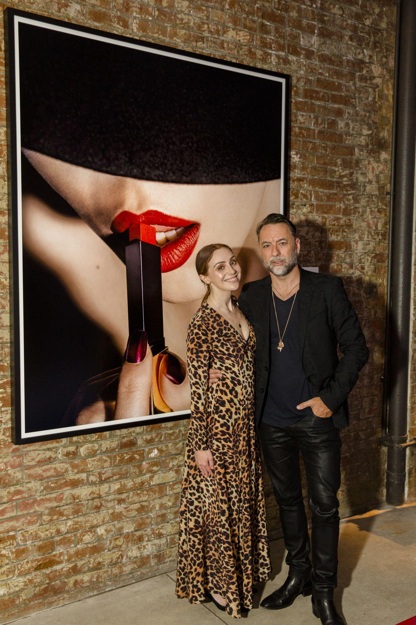 A Look Inside the Stunning YSL Beauté Party at New York Fashion Week
