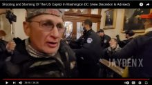 Latest Kentuckian charged in U.S. Capitol riot caught on video near fatal shooting