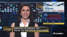Vipshop plunges on weak Q2 revenue guidance