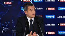 """Intempéries dans les Alpes-Maritimes : """"Les services de l'Etat seront au rendez-vous"""" auprès des sinistrés, promet Darmanin"""