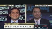 Talking Numbers: Burger King vs. McDonald's