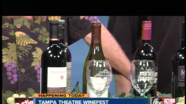 Tampa Theatre WineFest fundraiser