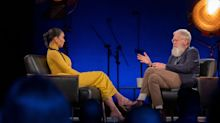 Kim Kardashian Gets Grilled By David Letterman For Standing By Trump