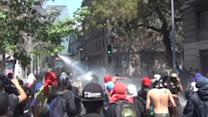 Clashes break out as hundreds march for Mapuche rights in Chile