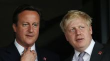 David Cameron says Boris Johnson is 'full of jealousies and paranoias'