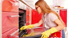 Woman shares genius no scrub hack for cleaning oven while you sleep
