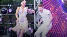 Katya and Neil Jones dance together at 'Strictly' launch party following their split